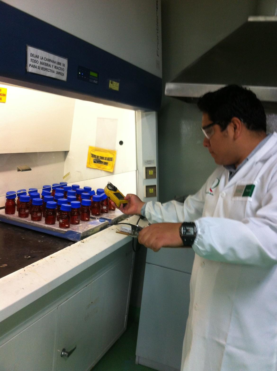 Monitoreo ocupacional agente quimico